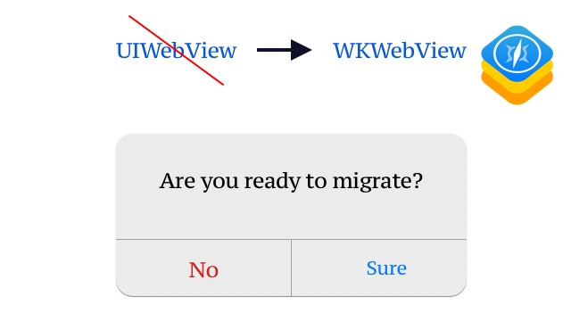 ITMS-90809: DEPRECATED API USAGE – MIGRATE FROM UIWEBVIEW TO WKWEBVIEW
